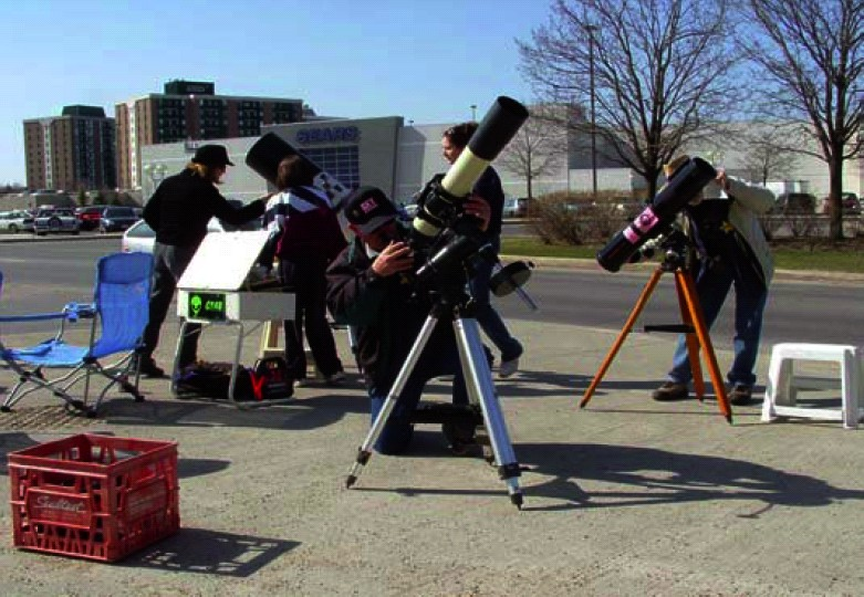 2005 Astronomy Day Photo